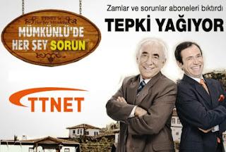 Türk Telekom ttnet internet telefon fatura şikayeti