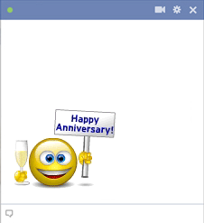 Happy Anniversary Emoticon