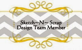 I am a Sketch N Scrap Design Team Member!
