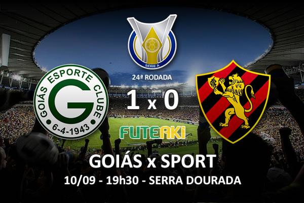 Veja o resumo da partida com o gol os melhores momentos de Goiás 1x0 Sport pela 24ª rodada do Brasileirão 2015.