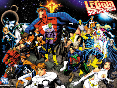 Poster de La Legion de Superheroes