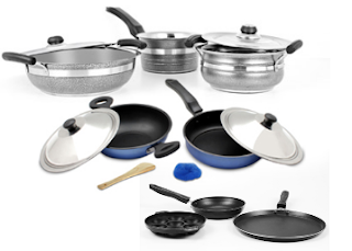 Paytm : Buy Mahavir Cookwears And get At Upto 60% OFF with Extra 50% Cashback,starting Rs. 239 – buytoearn