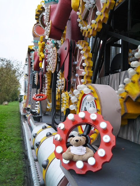 Omnibear on a Carnival float