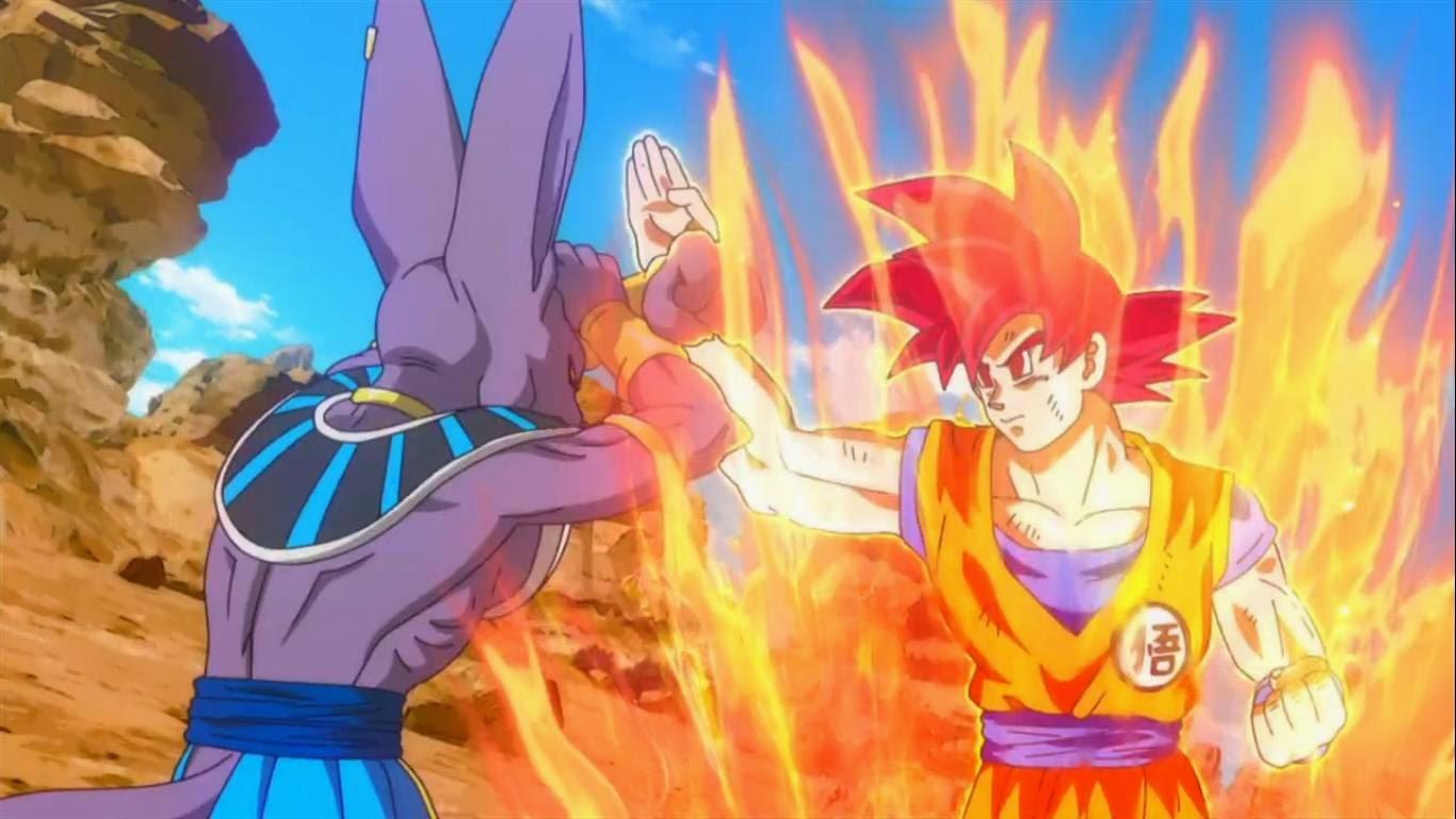 Dragon Ball  Doragon Bru VEGETTO  GOGETA A FONDO