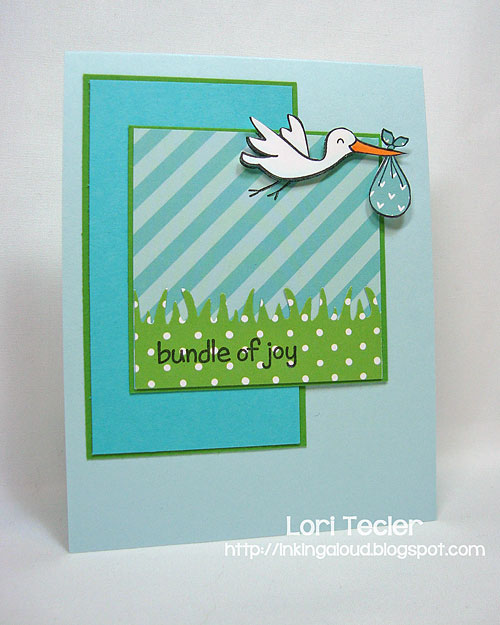 Bundle of Joy-designed by Lori Tecler/Inking Aloud-stamps from Lawn Fawn