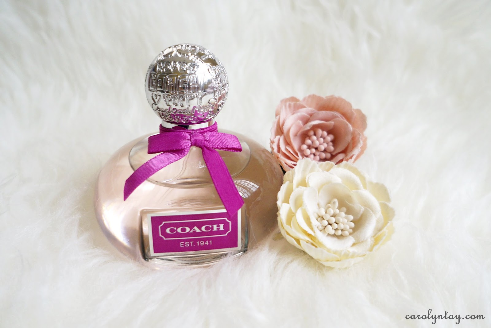 Review coach poppy flower carolyntay beauty travel the fragrance also exudes a fresh floral fruity character which is supposed to be more refined and romantic than the original mightylinksfo