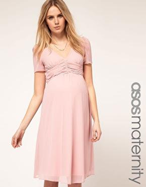 maternity pastel summer dress