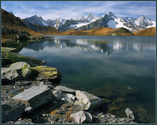 High Country Lake in the Alps