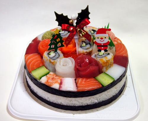 How To Make Sushi Cake Decorations