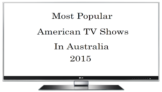 Popular American tv shows in Australia