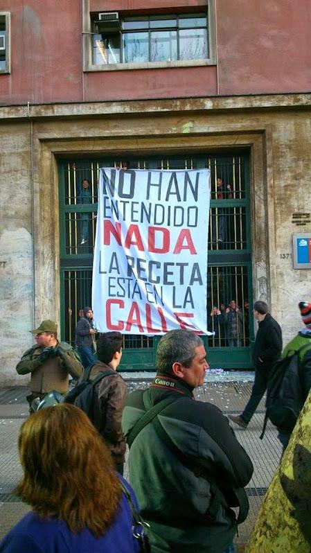 ¡¡¡ NO HAN ENTENDIDO NADA, LA RECETA ESTA EN LA CALLE!!!!