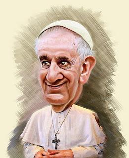bad Pope portrait