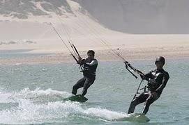 Water sports at Obidos lagoon