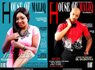 Ik Ogbonna And Ini Edo Covers House of Maliq November Edition.