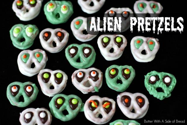 Alien Pretzels: Butter With A Side of Bread Martian Pretzels, Goblin Pretzels