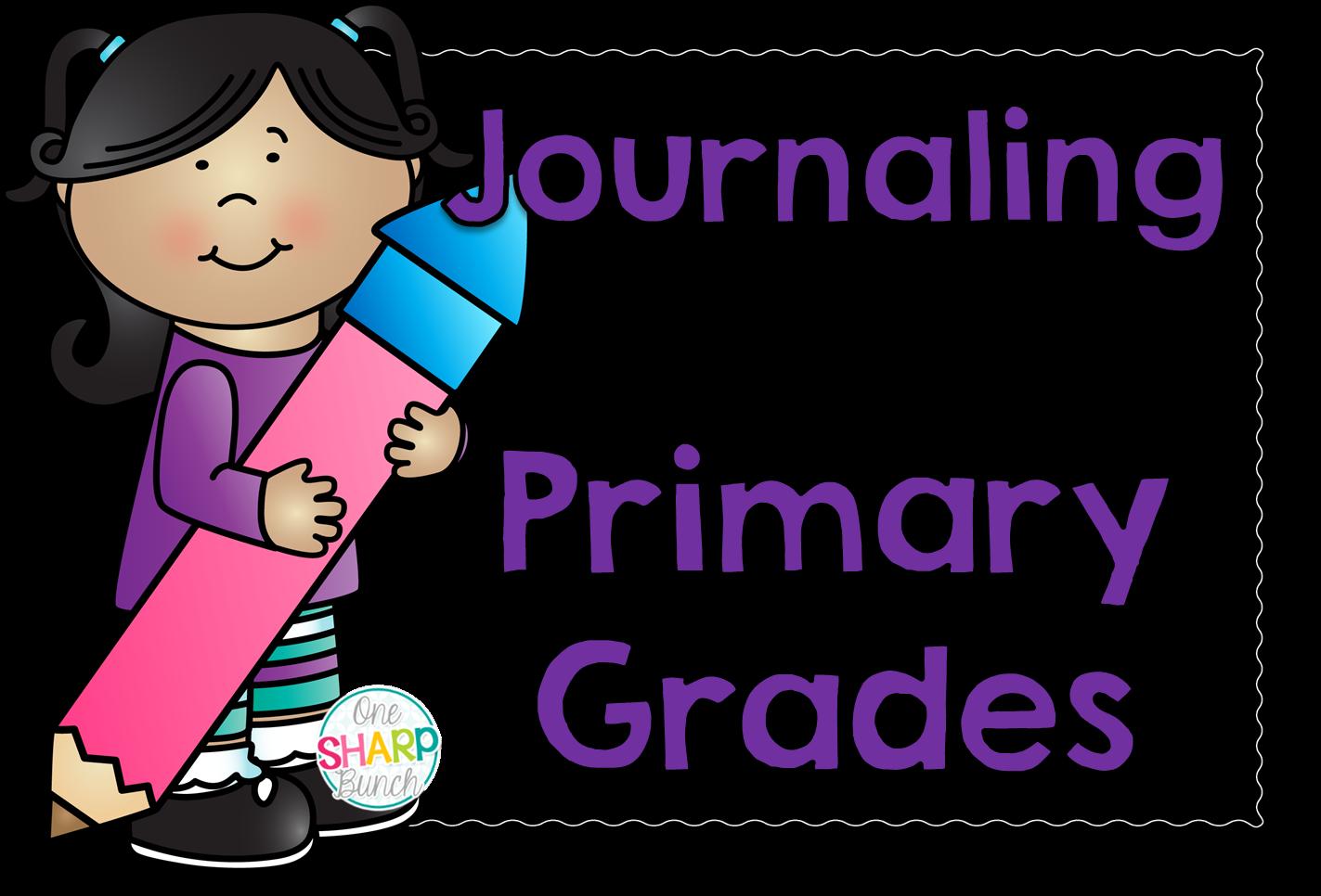 http://theprimarypack.blogspot.com/2015/02/journaling-in-primary-grades.html