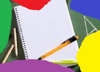 Lápis E Caderno  Para Estudar 9