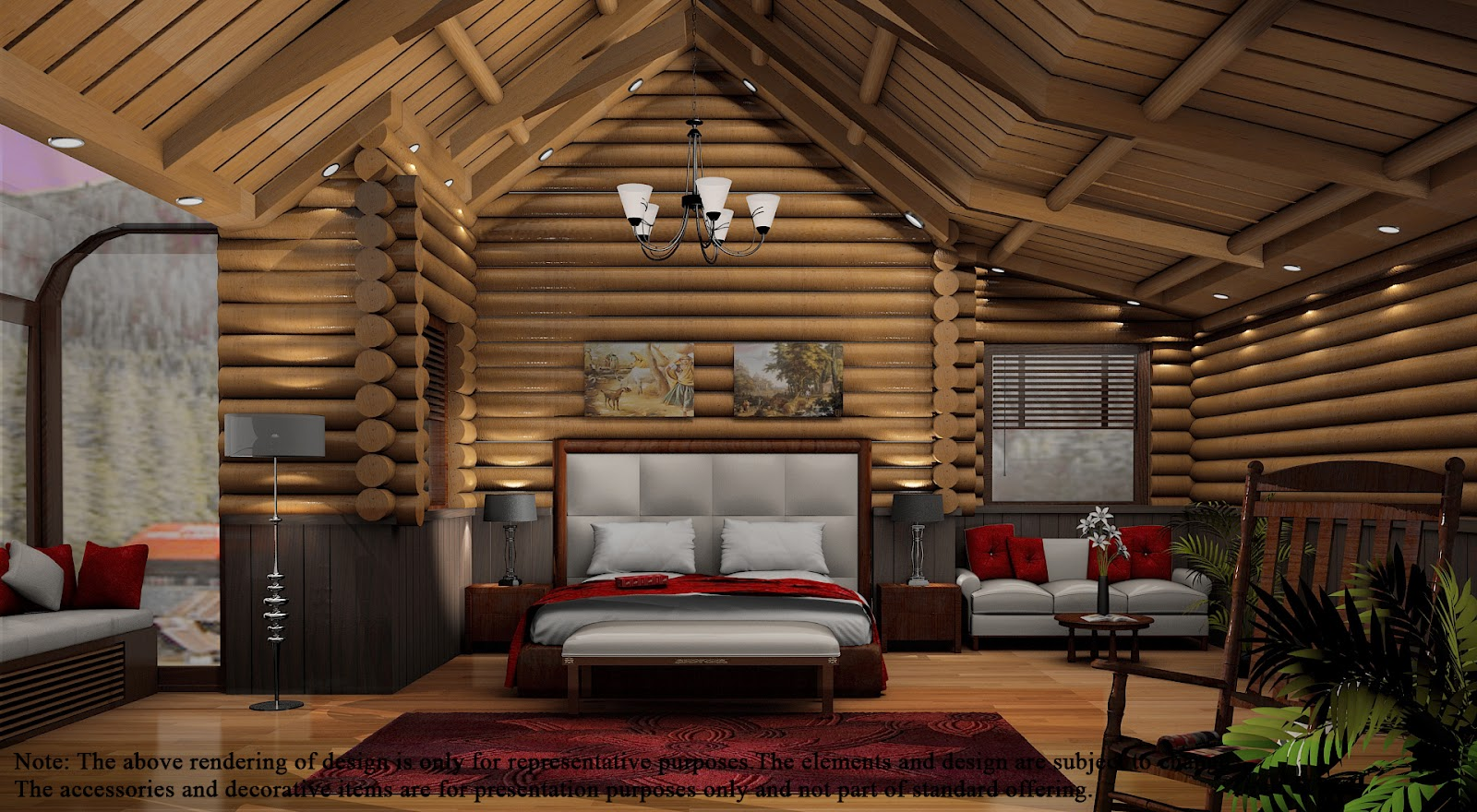 Log Cabins Bayleaf Designs