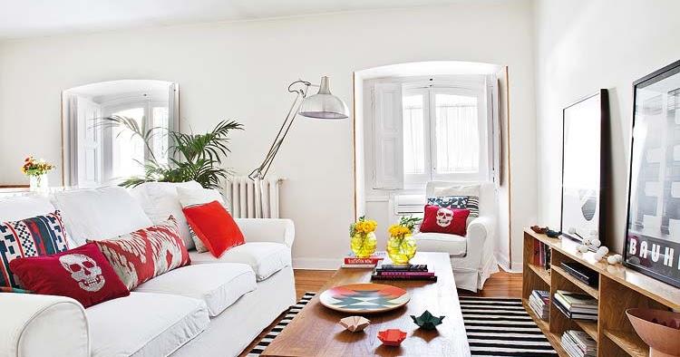 decoracion actual de moda un piso de 60m2 con mucho estilo