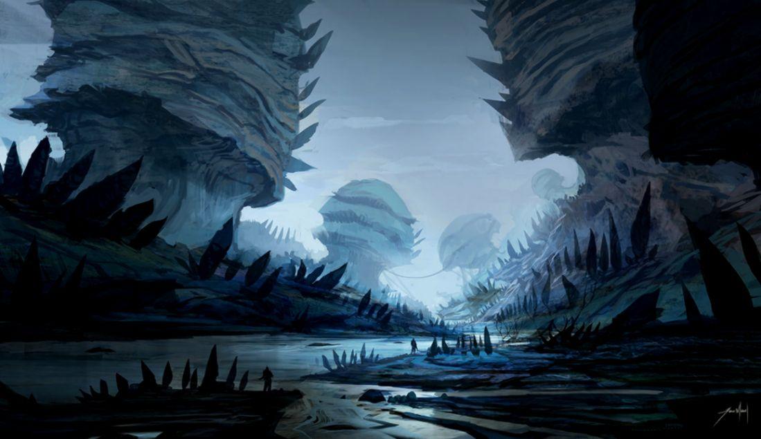 Alien World by JJcanvas on DeviantArt