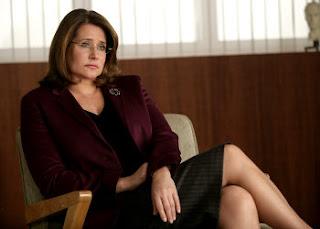 Sopranos psychiatrist in chair listening