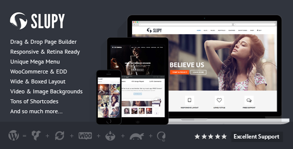 download Slupy - Responsive Multi-Purpose WordPress Theme
