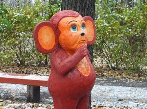 Жековская уличная скульптура на блоге старика Хоттабыча