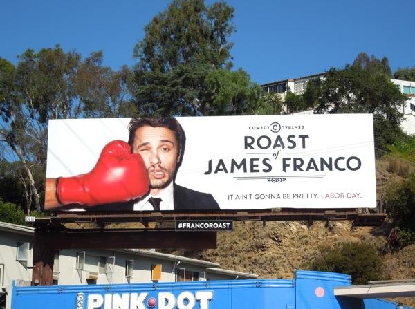 Comedy Central Roast James Franco billboard