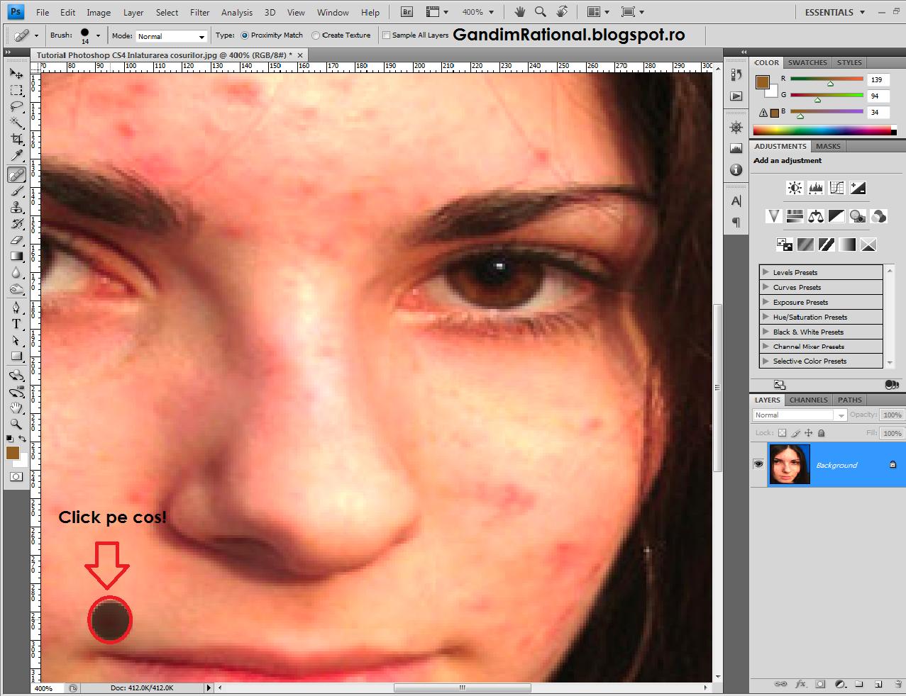 Tutorial Photoshop CS4 Inlaturarea Cosurilor