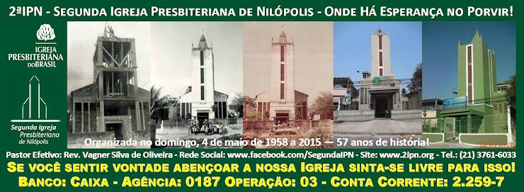 Colabore com a Segunda Igreja Presbiteriana de Nilópolis: