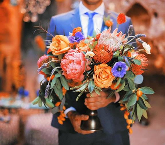 morroccan wedding flowers