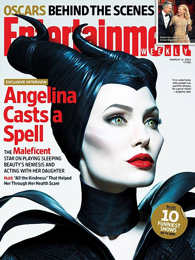 Angelina Jolie en Entertainment Weekly Magazine