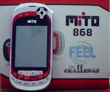 Mito 868 yang didesain dengan konsep menggabungkan antara telepon ...