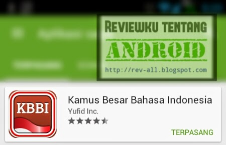 Ikon aplikasi YUFID KBBI - kamus besar bahasa indonesia offline untuk android oleh yufid (rev-all.blogspot.com)