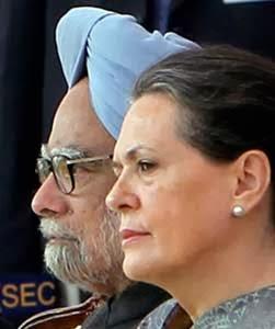 PM Manmohan Singh & Sonia Gandhi