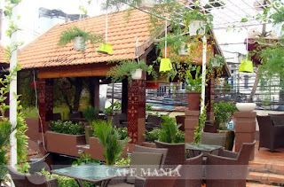 Cafe Mania Gò vấp cà phê sân vườn 3