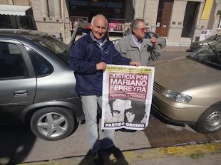 TAXISTAS DE LA PARADA DE BURGOS Y SAN MARTÍN TAMBIÉN PIDEN JUSTICIA POR MARIANO