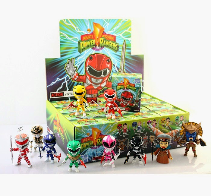 Mighty Morphin Power Rangers Mini Figure Series 1 by The Loyal Subjects