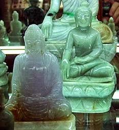 Natural Jade Buddha
