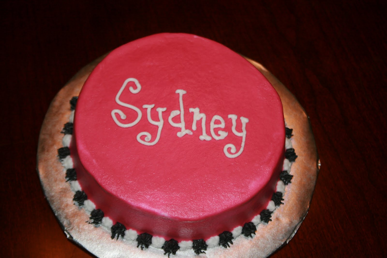 Sarahs Sweet Cakes Sydneys First Birthday Cakes