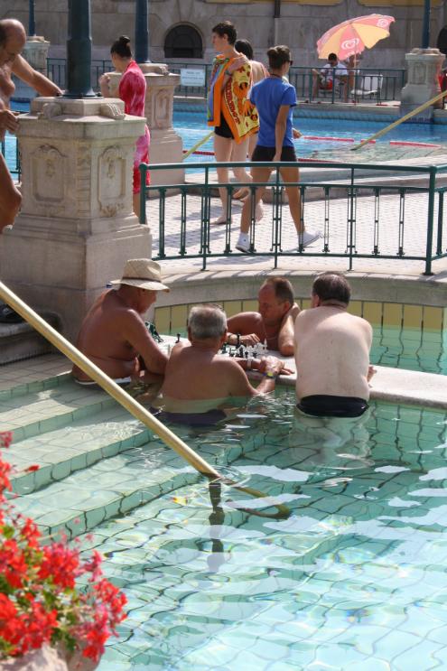 Szechenyi bath and spa