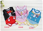 disney Cartoon Baby Sleeveless Romper (6 types) (kmuromper)