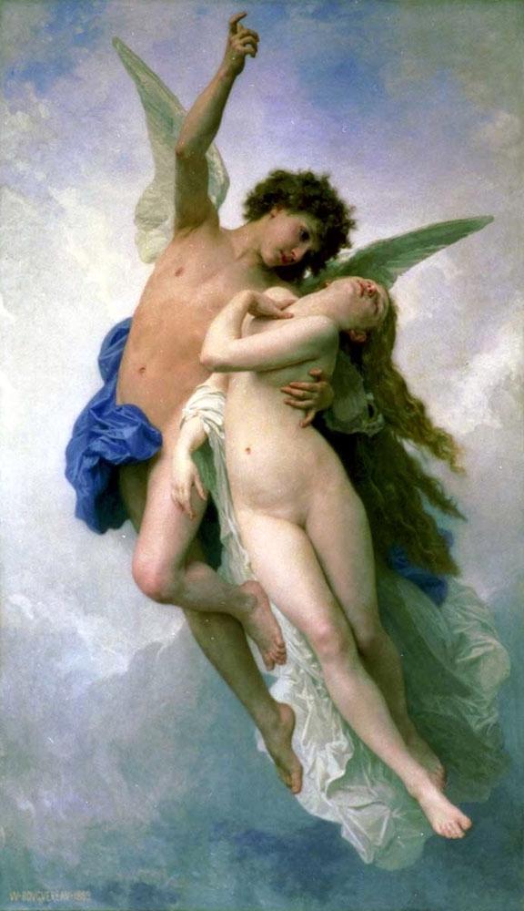 amour,psyche,William Adolphe Bouguereau
