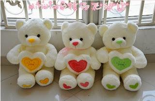 Boneka beruang love 30