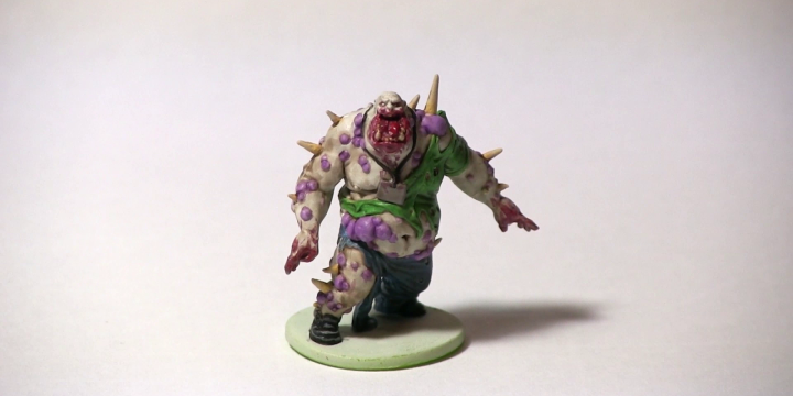 Tutorial: How To Paint A Zombicide Toxic Fatty