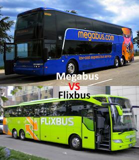 Viaggi Low Cost in Autobus: Megabus VS Flixbus