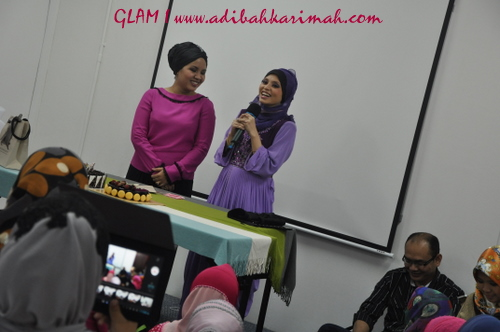 100G and CDM Awards at GLAM for CDM Adibah Karimah and other premium beautiful top achievers