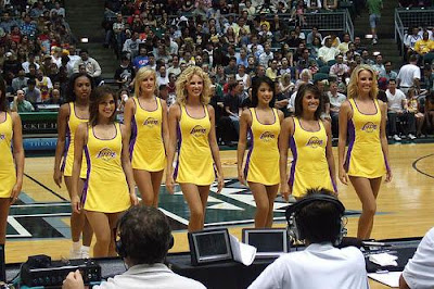 The Cheer Locker Laker Girls