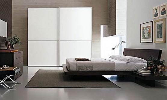 Fresh modern design luxury bedroom designs from italian for Italian bedroom design