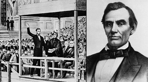 time he won the election. Abraham Lincoln served